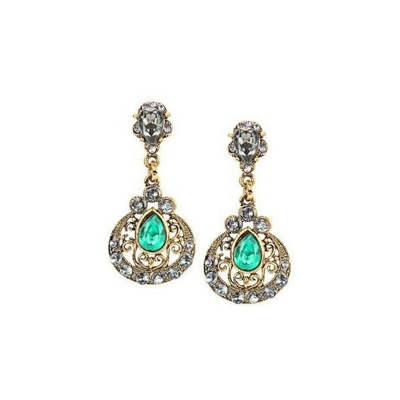 Diamante Waterdrop Stud Earrings ($5.95) ❤ liked on Polyvore featuring jewelry, earrings, sparkly earrings, diamante earrings, stud earrings, diamante jewelry and sparkle jewelry