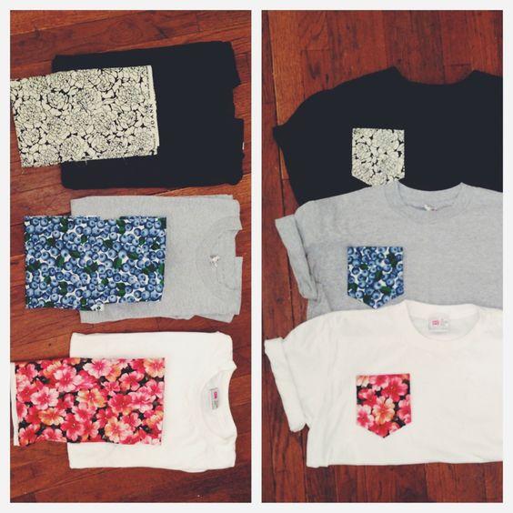 T-shirt + bolso estampado