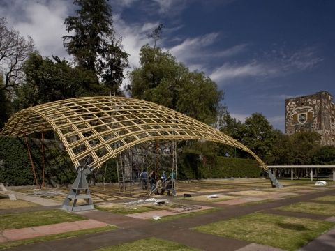 bamboo tensile structures - photo #15