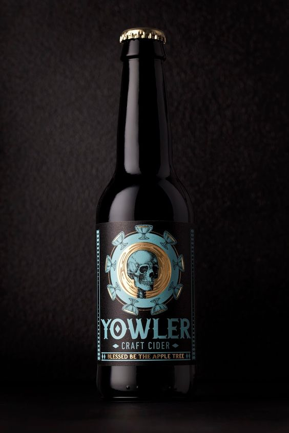 Yowler Cider on Packaging of the World - Creative Package Design Gallery