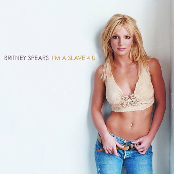 Britney Spears – I'm a Slave 4 U (single cover art)
