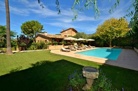 Country Home Mallorca: Only five minutes from the picturesque Plaza of Soller you can retreat back to this wonderful Mallorcan style country home http://www.balearic-properties.com/en/property/SOL4ABSO904M/country-home-soller
