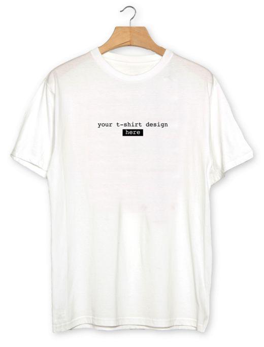 Free Customizable White Realistic T Shirt Mockup Psd Titanui Tshirt Mockup Shirt Mockup Tshirt Mockup Free