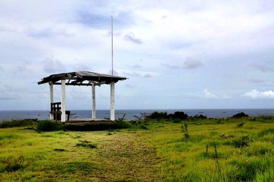 Top of an island in Puerto Rico