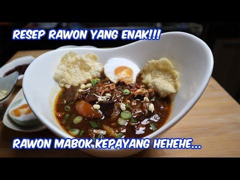 Rawon Ala Chef Ter Abal Abal Rawon Mabok Kepayang Hahaha Youtube Indonesian Desserts Food Chef