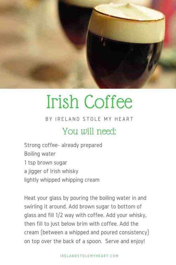 The Story Behind Irish Coffee (Plus a real Irish Coffee Recipe!) - Ireland Stole My Heart