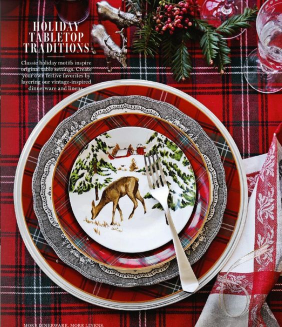 Charming Cozy Rustic Christmas-Tablescape