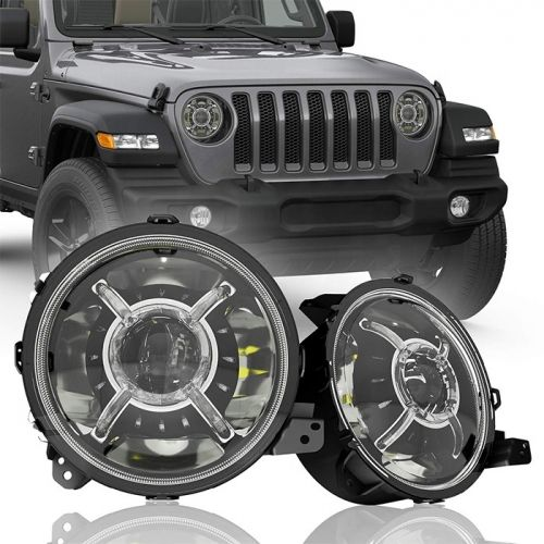 This Headlight Is 9 Inch Led Halo Lights It Comes With 100w