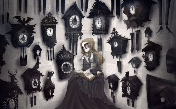 The girl and the soul 06 - I wonder cuckoo clocks by CottonValent on deviantART