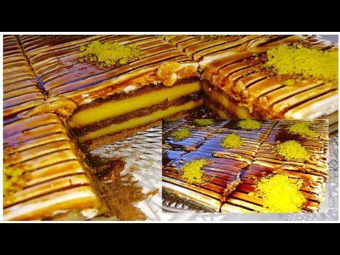 تحلية بدون فرن وبدون بيض باردة سهلة و سريعة راقية بالاشتراك مع Cuisine Loudjain Dz Youtube Desserts Food Apple Pie