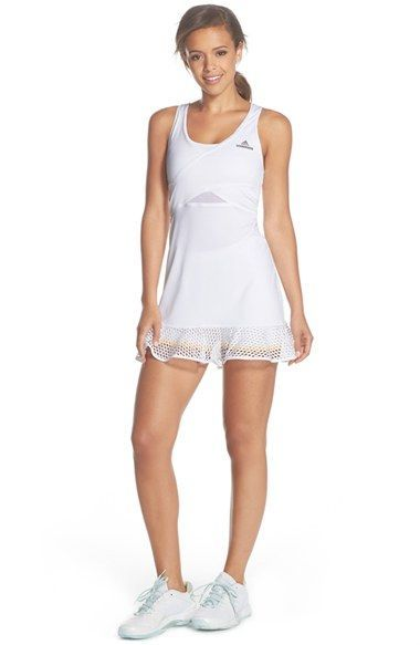 adidas by Stella McCartney CLIMACOOL® Mesh Dress & Shorts available at #Nordstrom
