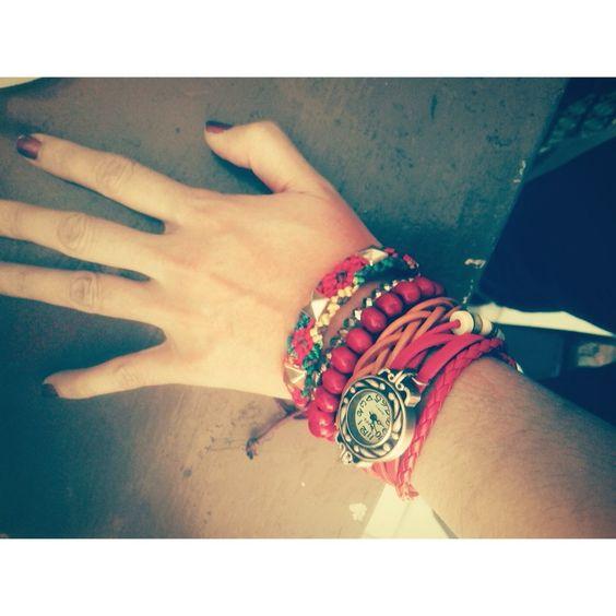 My new watch bracelet ❤