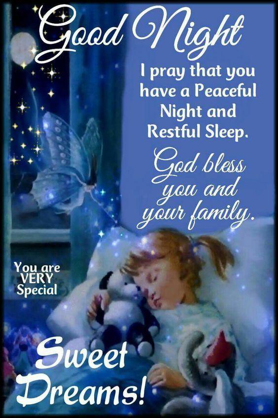 Sleeping Girl Night Dquote Cute Good Night Messages Girls Night Quotes Good Night Prayer