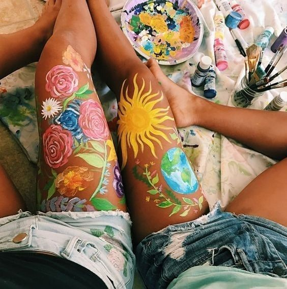 Watch The Best Youtube Videos Online Youtube In 2020 Leg Art Body Art Painting Body Painting