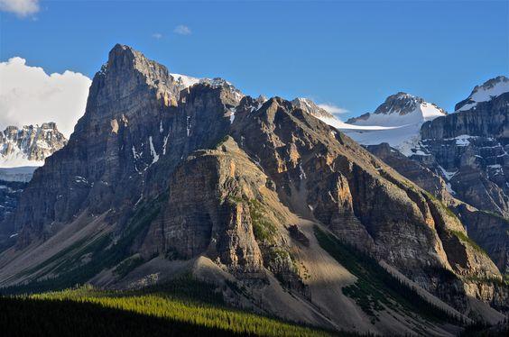 Mt. Babel Moraine Lake AB [4288x2848] [OC]   landscape Nature Photos