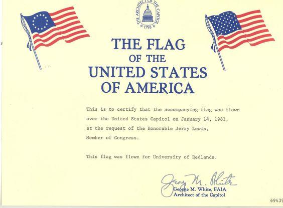 u.s flag flown on vetaran day