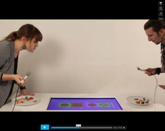Pixelate: mesa interactiva podría ayudar a comer a niños mañosos