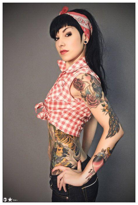 wmn tattoo gitana