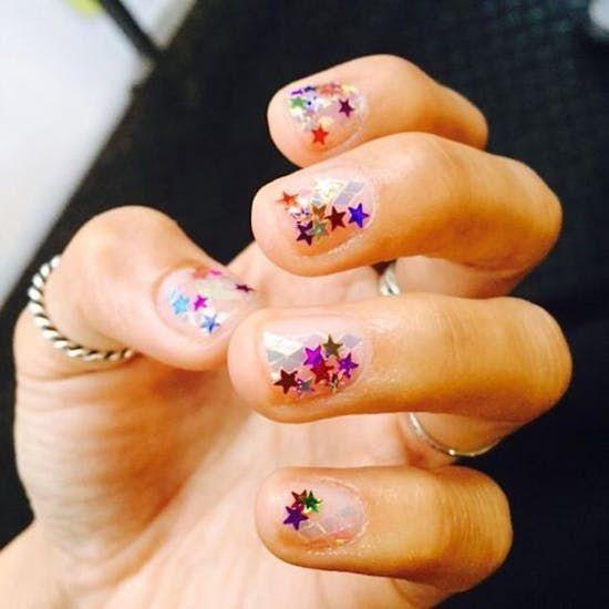 21 Fresh Negative Space Nail Ideas For Summer Space Nails Negative Space Nails Fun Nails
