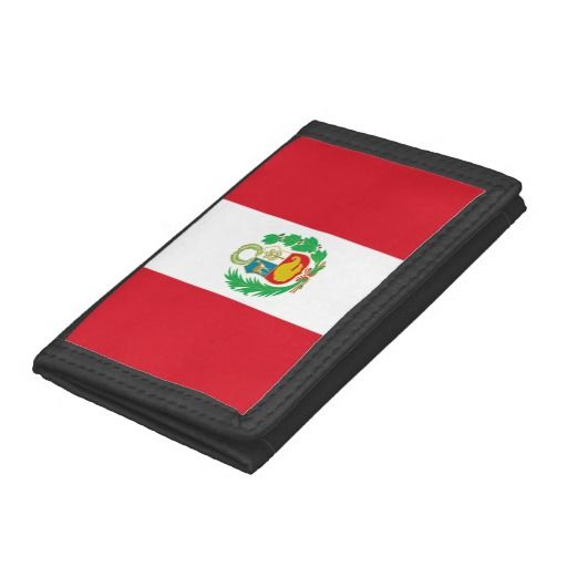 Peruvian flag wallet