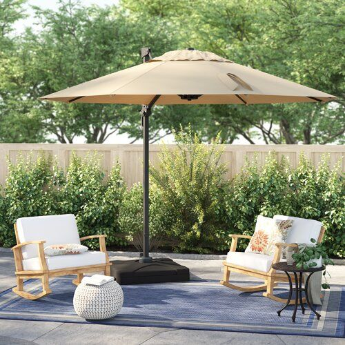 Sol 72 Outdoor Bellana 8 5 Cantilever Umbrella Reviews Wayfair Cantilever Umbrella Offset Patio Umbrella Patio