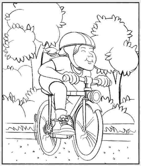 Bicycle Safety Craft Idea Use This Bicycle Helmet Template