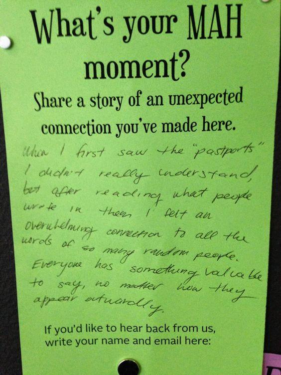 What's your MAH moment? Santa Cruz Museum Nina Simon