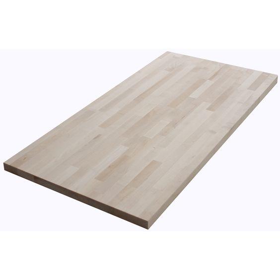 kitchen countertops butcher blocks and birches on pinterest. Black Bedroom Furniture Sets. Home Design Ideas