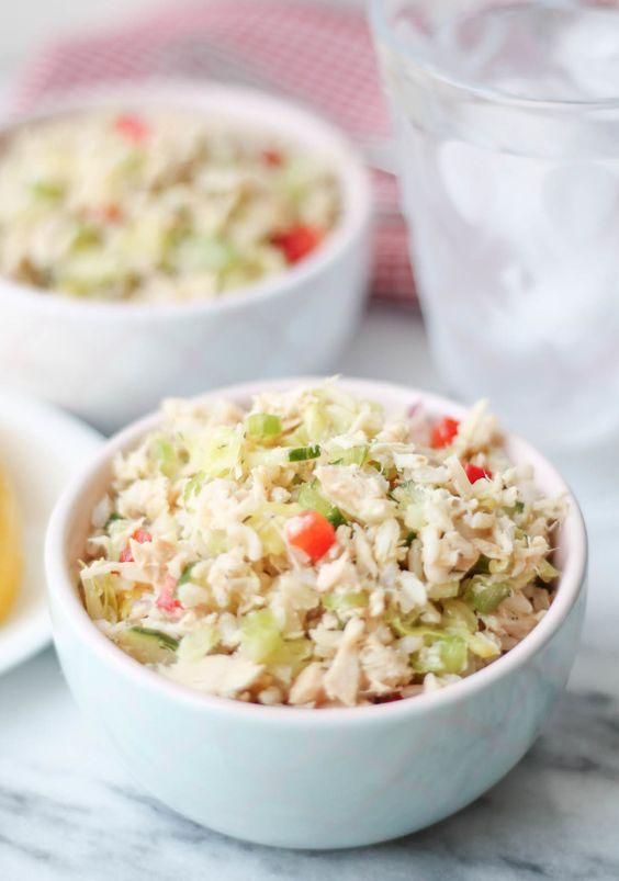 Brown Rice Tuna Salad