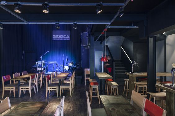 Rambla - Taberna, Tapas e Música / Design Alternativo