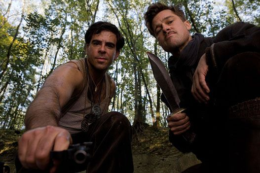 "Inglourious Basterds.   ""We gonna be doing one thang and one thang only. Killin' Natzi's."""