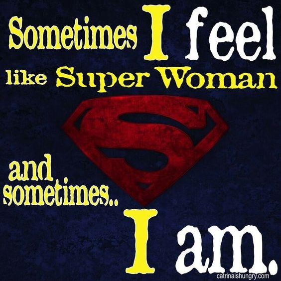 Ive a krav maga woman....I am superwoman!!