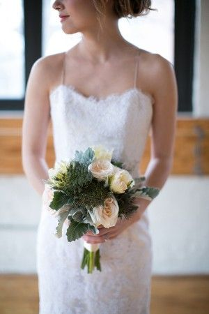 Romantic Chicago Wedding Inspiration: Dress by Alice Padrul