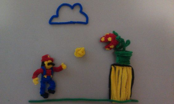 #Mario Pipe-Cleaners