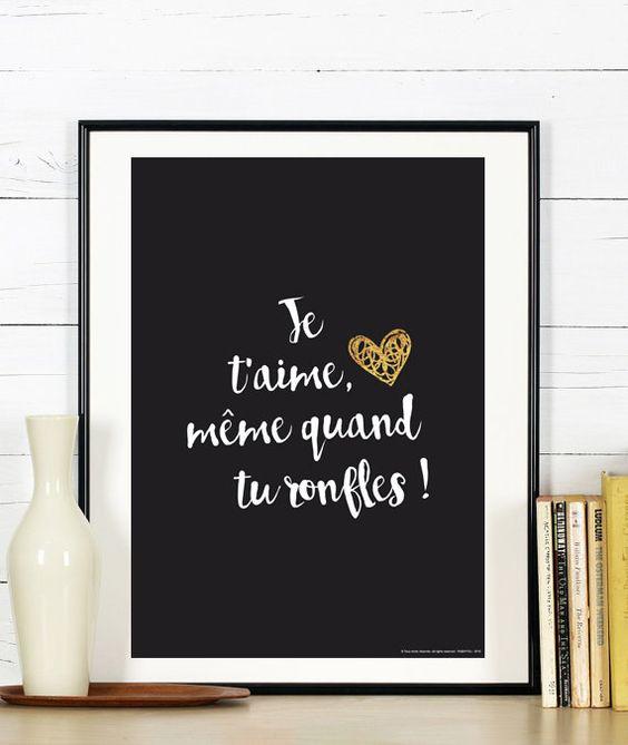 affiche amour and saint valentin on pinterest. Black Bedroom Furniture Sets. Home Design Ideas