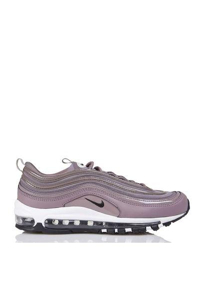 Nike Air Max 97 Premium en cuir et toile Violet by NIKE