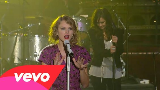 Taylor Swift - You Belong With Me (Live on Letterman) & she is right we understand each other...you don't understand any performer...this is entertainment...