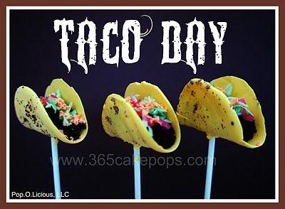 taco cake pops