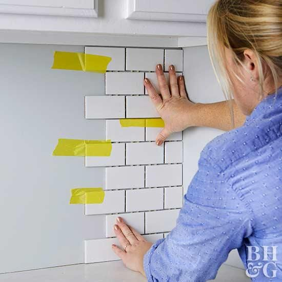 Update Your Kitchen With A New Backsplash Install Backsplash Diy Backsplash Backsplash