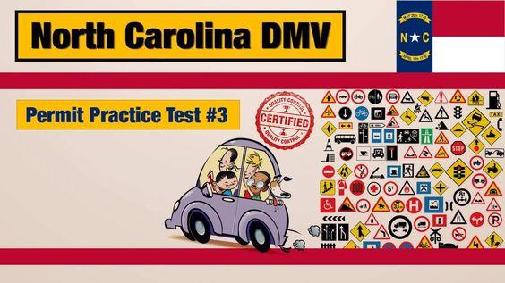 Driving license test: North Carolina DMV Permit Practice Test #3
