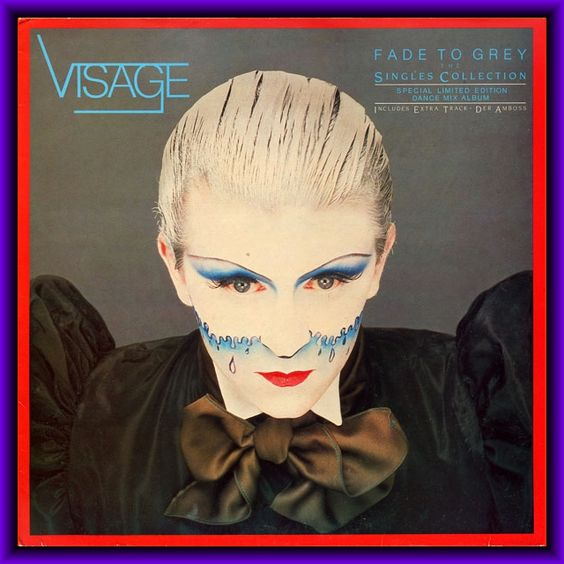 12INCH RARE MAXIS: Visage – Fade To Grey - The Singles Collection - Special Dance Mix Promotional Album