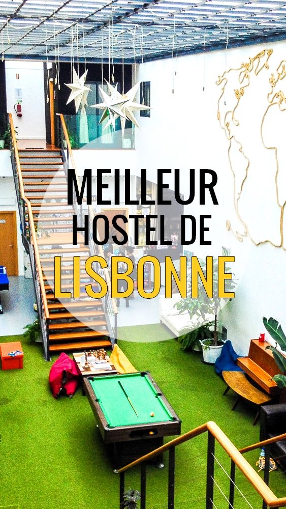Le Destination Hostel à Lisbonne