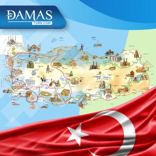 معلومات عامة عن تركيا شركة داماس تورك العقارية Country Flags Eu Flag Country