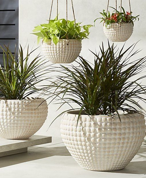 Zola Textured Planters Large Outdoor Planters Outdoor Planters