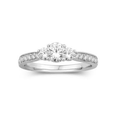nicole by Nicole Miller® 1 CT. T.W. 3-Stone Engagement Ring  found at @JCPenney