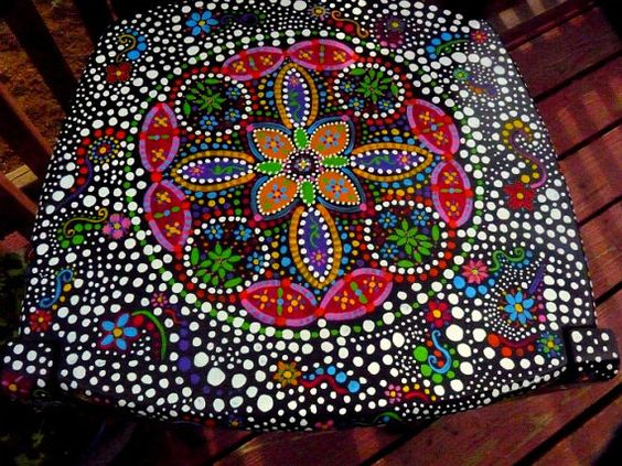 Hand painted funky chairs to order by dannimacstudios on Etsy
