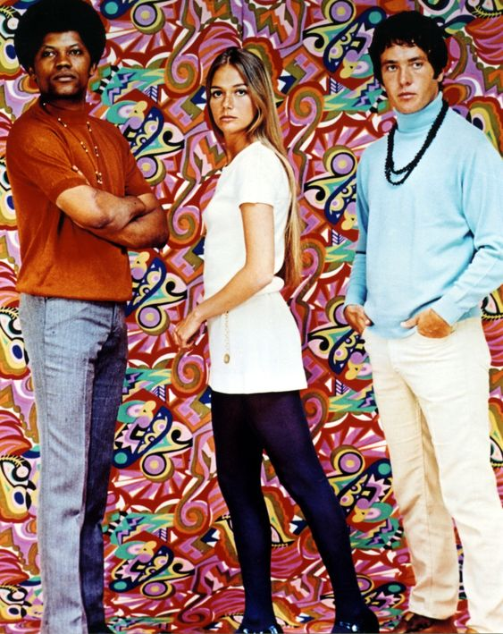 Clarence Williams III, Peggy Lipton & Michael Cole
