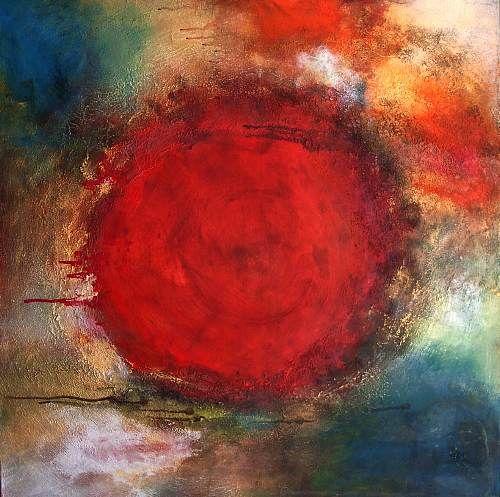 """Silke Brandenstein, """"lass los was sich im Kreise dreht"""" Mit einem Klick auf """"Als Kunstkarte versenden"""" versenden Sie kostenlos dieses Werk Ihren Freunden und Bekannten."""