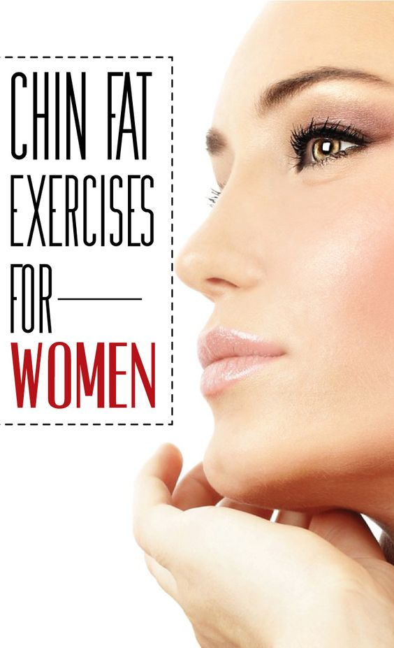 Chin Fat Exercises for Women | Cute Parents