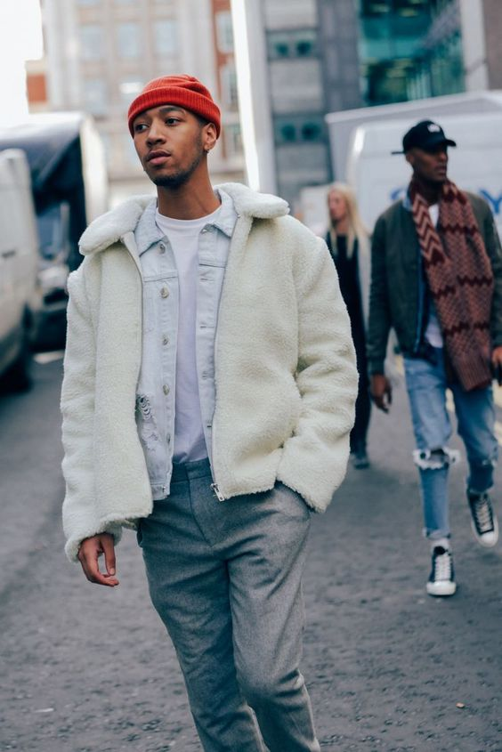 The Best Street Style from London Collections: Men Photos #StyleMadeEasy